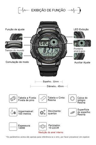 relógio casio original na caixa modelo ae-1000w-1a