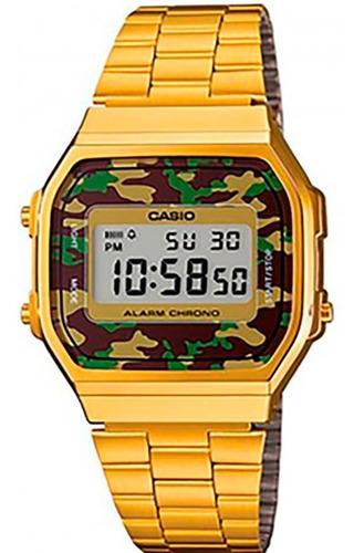 relógio casio original vintage military a168wegc-3df