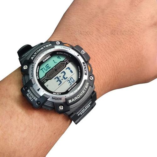 relógio casio outgear masculino sgw-300h-1avdr