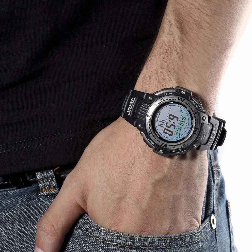 69a0a8b69fa relógio casio outgear sgw-100 termômetro digital bússola. Carregando zoom.