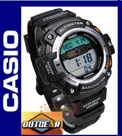 0f8038723a7 Relógio Casio Outgear Sgw-300 Altimetro Barometro Term. Pt - R  499 ...