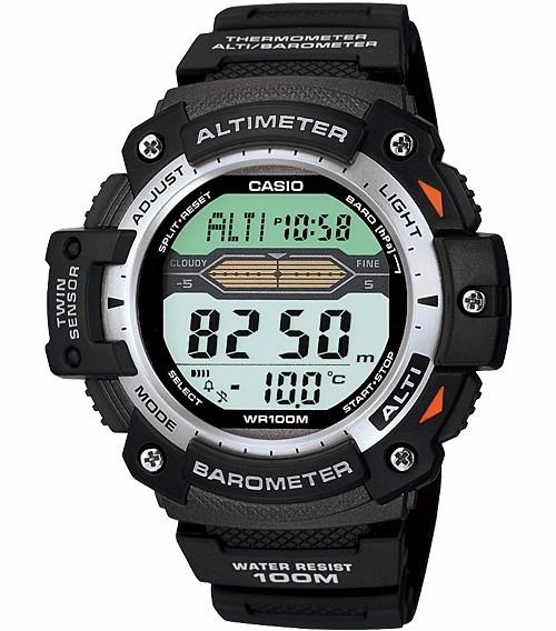 fa6cbad7fec Relógio Casio Outgear Sgw-300 Altimetro Barometro Term. Pt - R ...