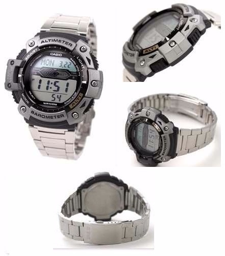 d708f5d32a8 Relógio Casio Outgear Sgw-300 Hd Altimetro Barometro Aço Pt - R  475 ...