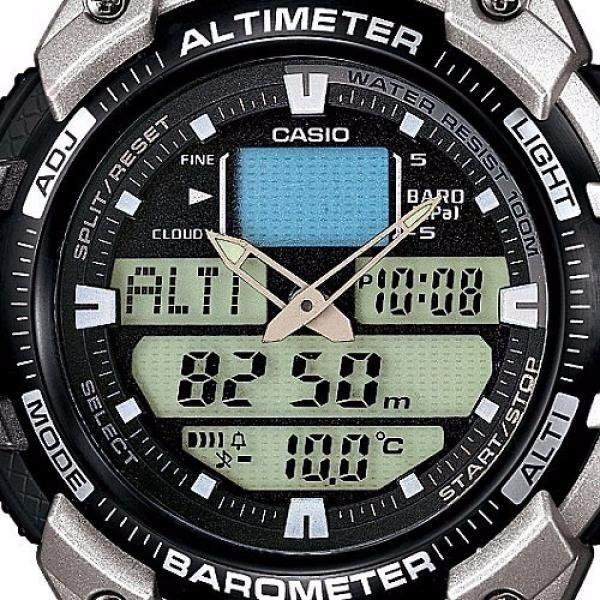 429c6ba1045 Relógio Casio Outgear Sgw 400 Hd Altimetro Barometro - R  449