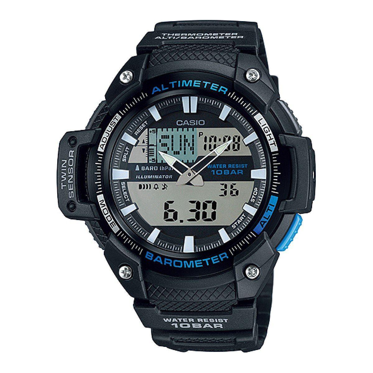 6d54c4d7325 relógio casio outgear twin sensor masculino sgw-450h-1adr. Carregando zoom.