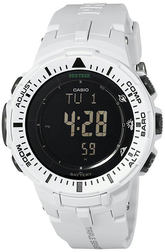 2c833bd1450 Relógio Casio Pro Trek Triple Sensor Masculino Prg-300-7dr - R  599 ...