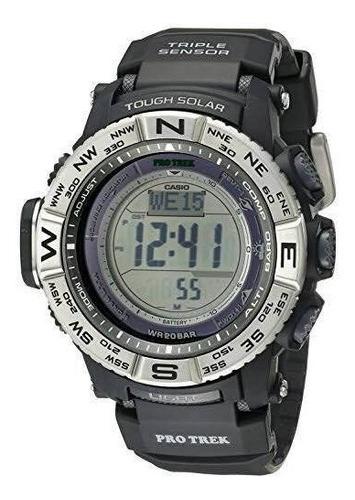 relógio casio protrek atomic prw-3500-1cr