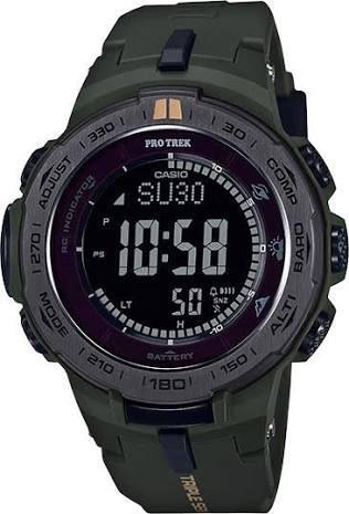 a38285b0993 Relógio Casio Protrek Casual Prw-3100y-3cr - R  2.599
