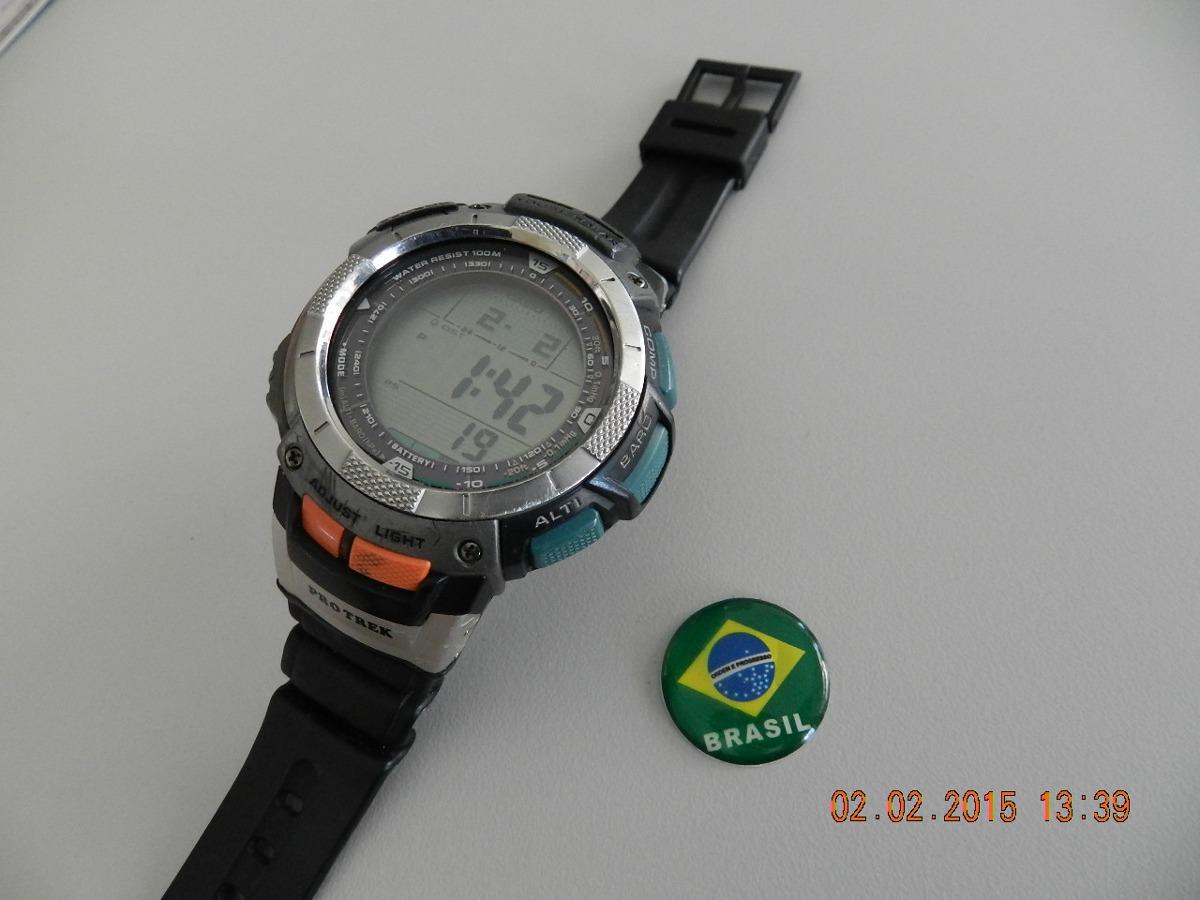 0cbdbade63a relógio casio protrek prg 80 - usado - conservado. Carregando zoom.
