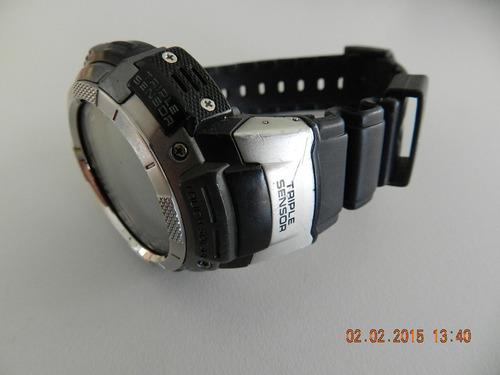 relógio casio protrek prg 80 - usado - conservado