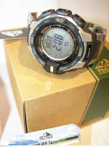 c242409df01 Relogio Casio Protrek Prg270d-7 Prg270 Prg250 (em S.p ) - R  847
