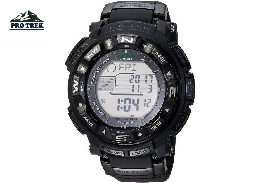 671ddfd365f relógio casio protrek prw 2500-1a tough solar gráfico marés. Carregando  zoom.