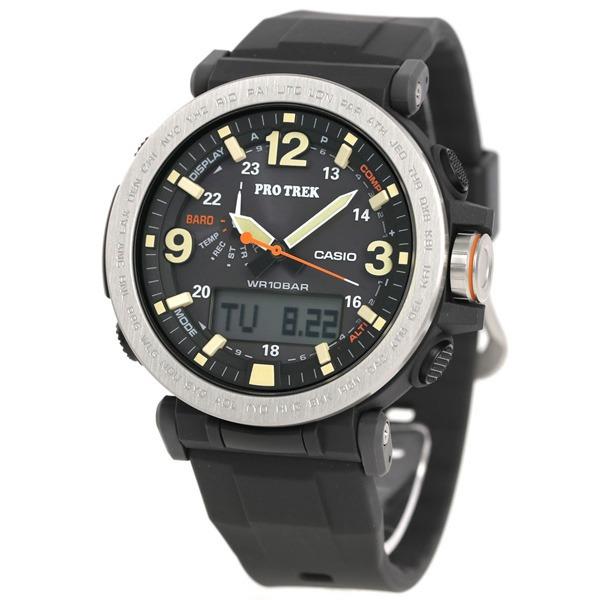 5841f278a2b Relógio Casio Protrek Triple Sensor Tough Solar Prg-600-1dr - R ...