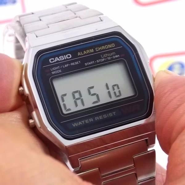 693285b07e6 Relógio Casio Retrô A158wa - 100% Autentico 1ano De Garantia - R ...
