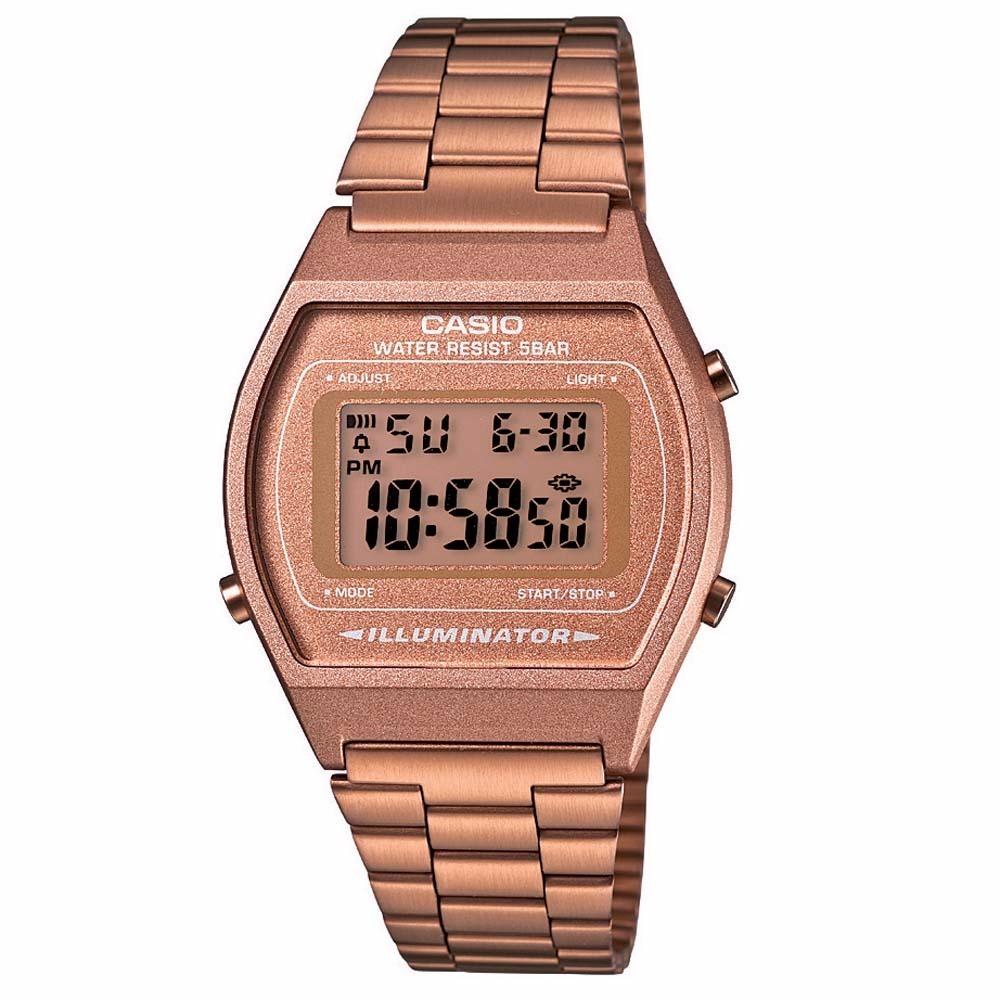 5ef0a119c666 relógio casio rose b640wc-5adf retro vintage original nf. Carregando zoom.