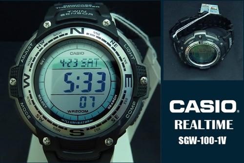 2153836ce7b Relogio Casio Sgw-100-1v Sgw-500h Sgw-200 Sgw-300 Prg-130 - R  346 ...