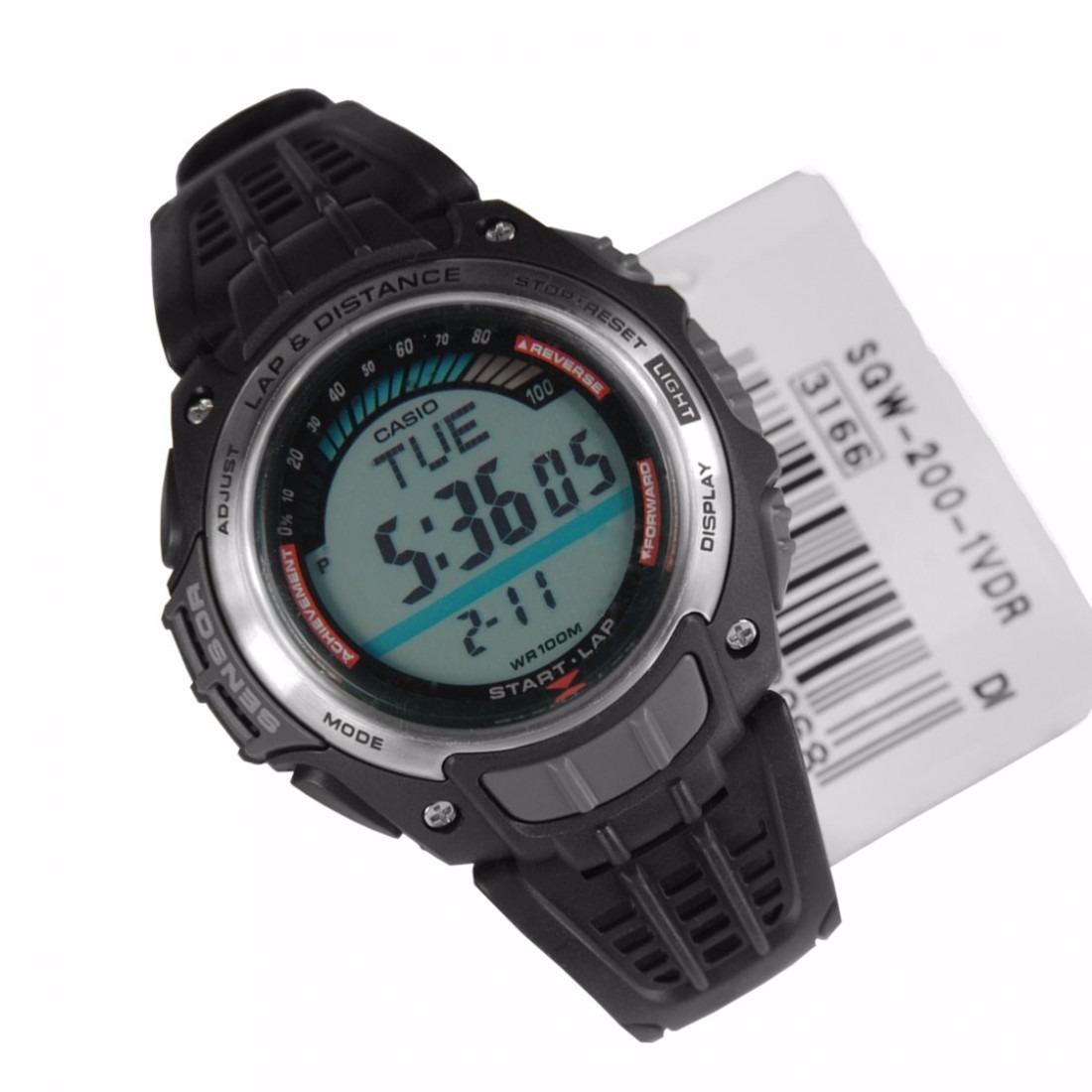 81fd6a04f5c relogio casio sgw 200 crono timer 5alarm run lap aceleração. Carregando  zoom.