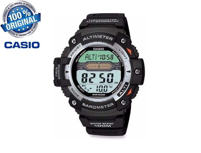 3c86fe607eb Relógio Casio Sgw 300 H 1av Altímetro Barômetro Termômetro - R  345 ...