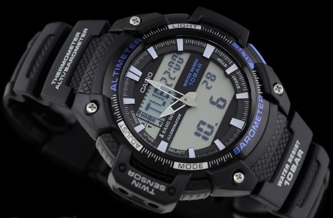 b6f7bcd8812 Relogio Casio Sgw-450h-1b Sgw-100 Sgw-300 Sgw-400 Promoção - R  388 ...