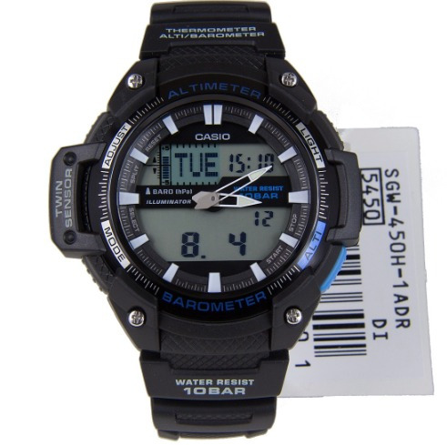 61b7b695f6a Relogio Casio Sgw-450h-1b Sgw-100 Sgw-300 Sgw-500 Sgw-400 - R  368 ...