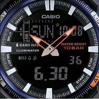 670413e9c55 Relogio Casio Sgw-450h-2b Sgw-100 Sgw-300 Sgw-500 Sgw-400 - R  378 ...