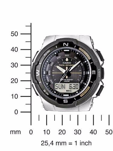 b5a9f41a3e8 Relogio Casio Sgw-500hd-1bvdr Bussola Termometro Alarme - R  449