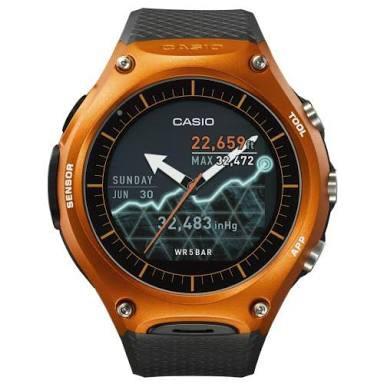 ffab4f31df1 Relógio Casio Smartwatch Orange Wsd-f10rg - R  2.399