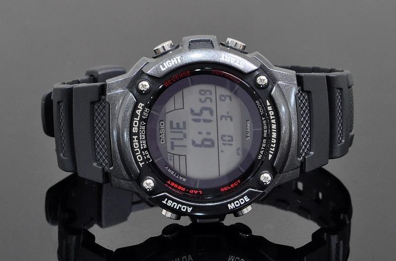 44dda2a8690 Relógio Casio Solar Ws200 5 Alarmes 2 Timers 210 - R  169