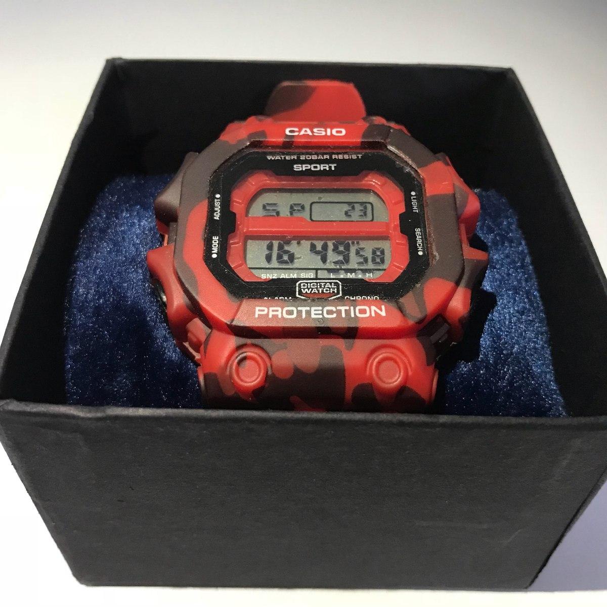 96059fdd884 relógio casio sport protection. Carregando zoom.