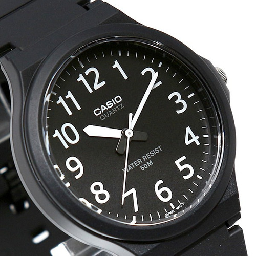 2c610178ce0 Relógio Casio Standard Analógico Preto Masculino Mw-240-1bvd - R ...