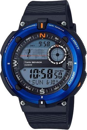 relógio casio standard masculino outgear sgw-600h-2adr