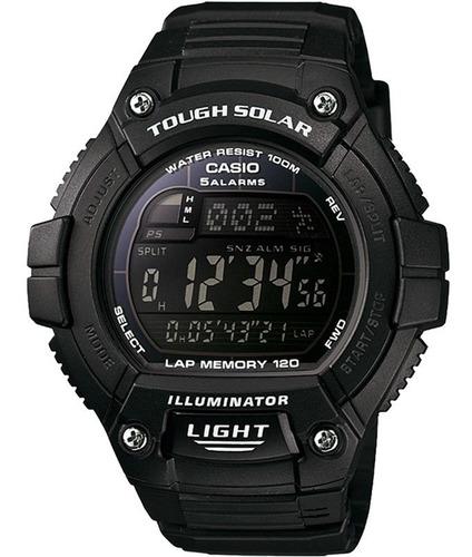 relógio casio tough solar masculino w-s220-1bvdf