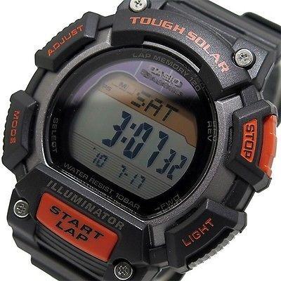 relógio casio tough solar - stls-110h-1acf original c/nf!