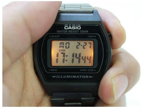 29932731fbf relógio casio unissex b640 preto pronta entrega novo promoçã · relógio  casio unissex