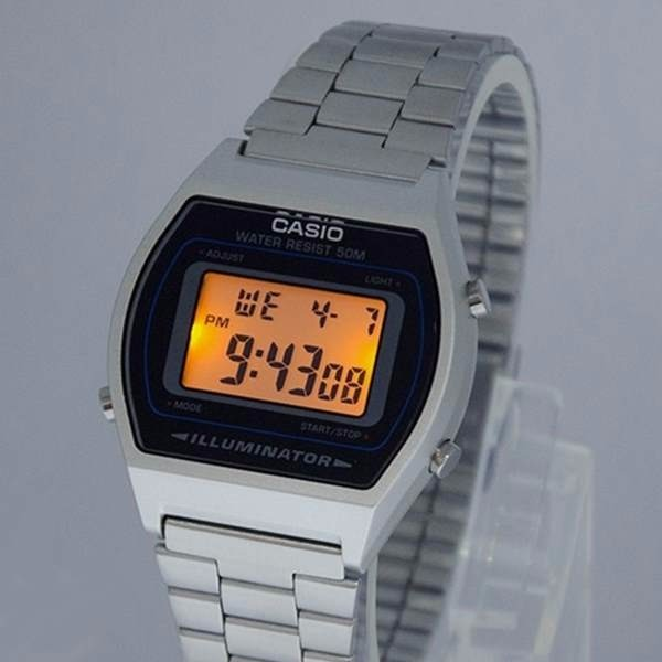 3b0bc573203 Relógio Casio Prateado Wr50 Illuminator B640wd Unissex - R  189