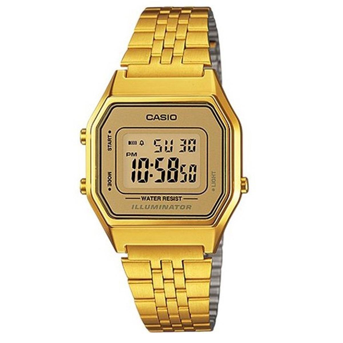 9059f9ee3b8 Relógio Casio Vintage Digital Unissex La680wga-9df - R  309