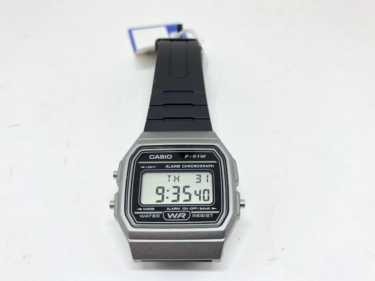 8697fa6c932 Relógio Casio Vintage Standard Digital Unissex F-91wm-1bdf - R  128 ...