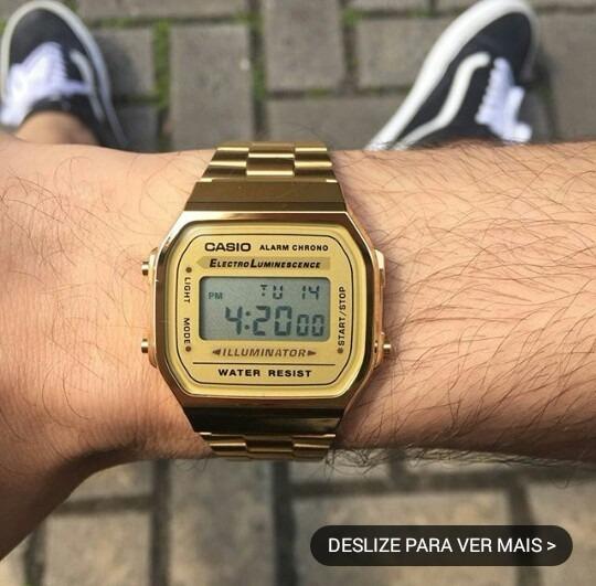 9f8393cd1ca Relógio Casio Unissex Vintage - R  150
