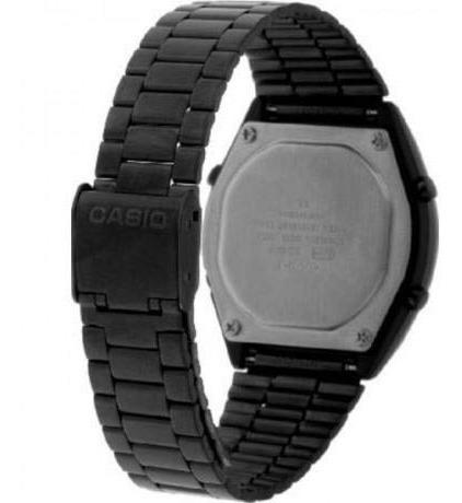 relógio casio unissex vintage b640wb-1adf preto original c/ garantia e nota fiscal.