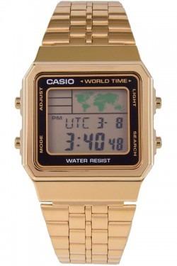 ba2400244a5 Relógio Casio Unissex Vintage World Time A500wga-1df Novo - R  247 ...