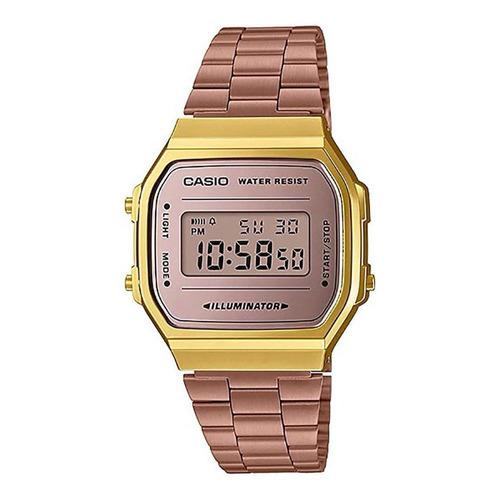 relógio casio vintage - a168wecm-5df