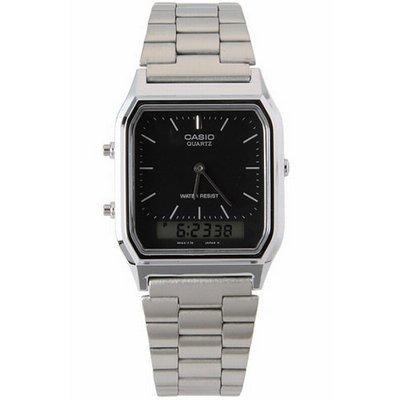 0f00f35a6 Relógio Casio Vintage - Aq-230a-1dmq - Analógico E Digital - R  199 ...