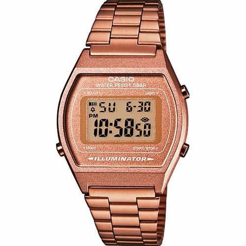 7fe6423b20b Relógio Casio Vintage B640 Rose Cobre Alerta Piscante Timer - R  259 ...