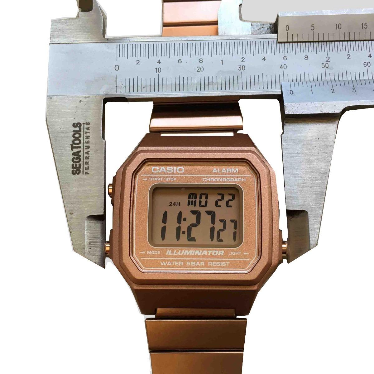 20be5553c3e relógio casio vintage b650 rose 158 168 - original c  caixa. Carregando  zoom.