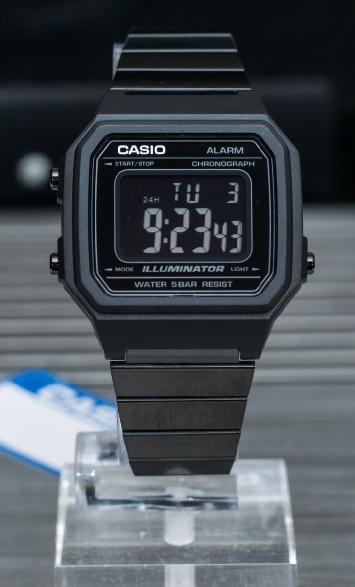 3a82dc9773a relógio casio vintage b650wb preto original lançamento. Carregando zoom.