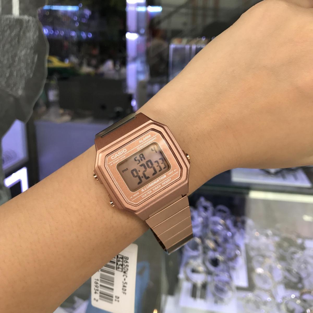 e8c2bd6081e relógio casio vintage b650wc 5adf nfe original b650. Carregando zoom.