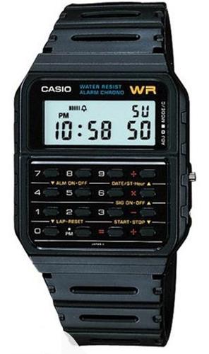 relógio casio vintage - ca-53w-1z - calculator - chronograph