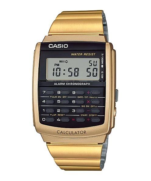 55055d9c31b Relógio Casio Vintage Calculadora Ca506g - R  299