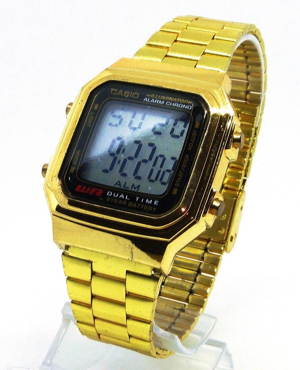 d16915c1752e relógio casio vintage digital dourado- excelente qualidade. Carregando zoom.