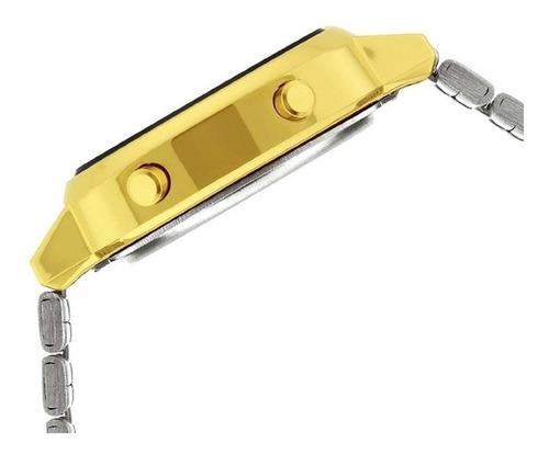 relógio casio vintage digital feminino la670wga-1df